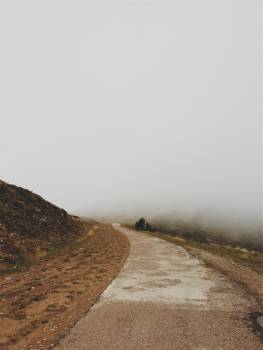 fog path dirt  Free Photo