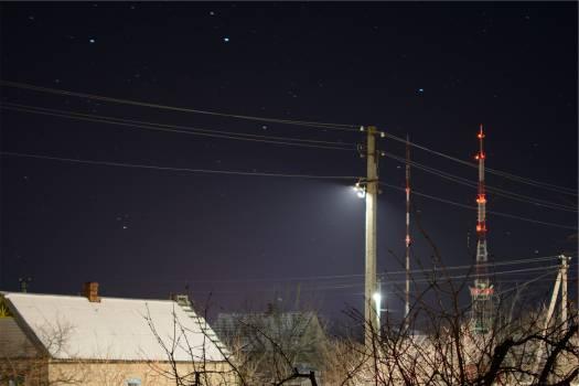 stars sky night  #23351