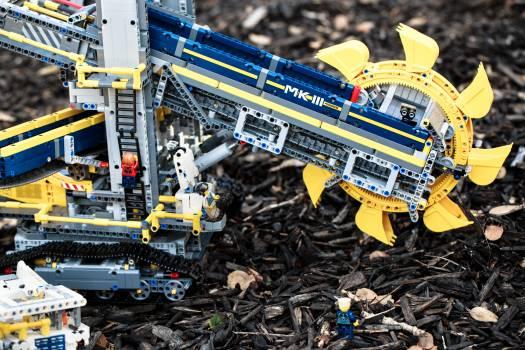 Machine Equipment Construction Free Photo