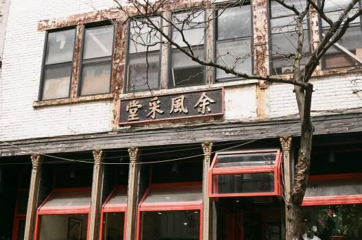 chinese asian restaurant  Free Photo
