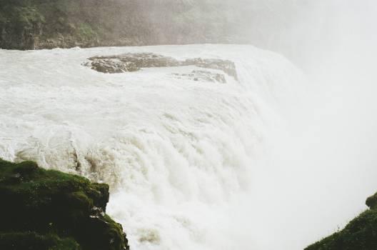 waterfall stream mist  #23526