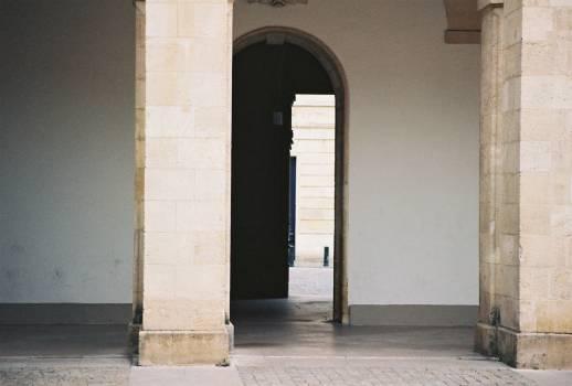 pillars doorway arch  Free Photo