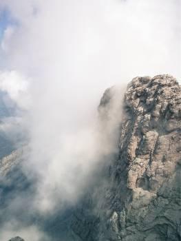 mountains cliffs peaks  Free Photo