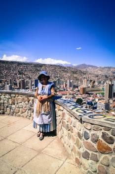 La Paz Bolivia woman  Free Photo