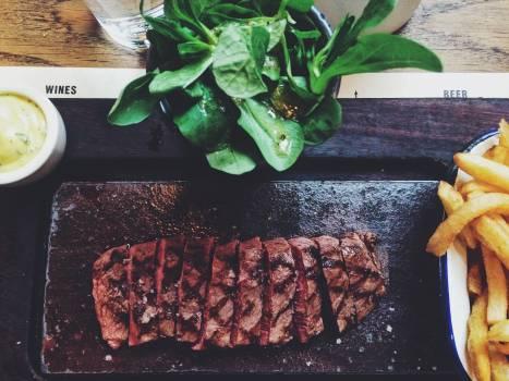 Meat Pepper Dinner Free Photo