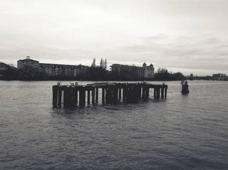 dock lake water Free Photo
