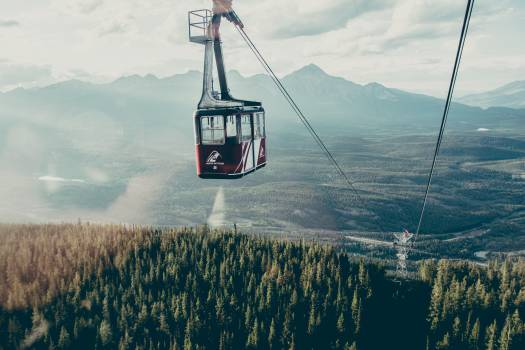 gondola lift cables Free Photo
