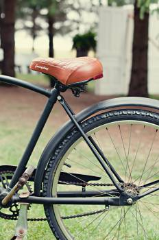 bike bicycle seat Free Photo