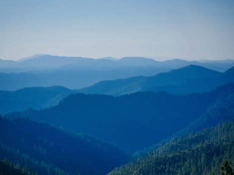 mountains valleys peaks #23907