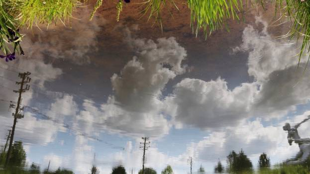 Sky Clouds Landscape Free Photo