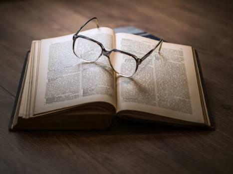 eyeglasses books reading Free Photo