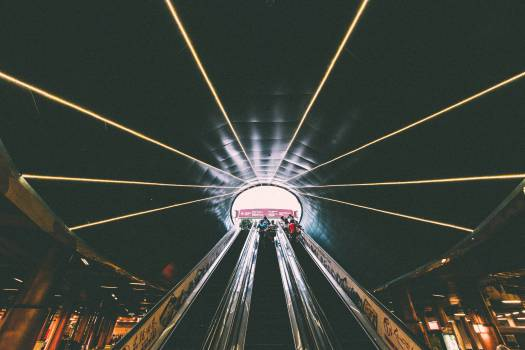 escalator building architecture #24030