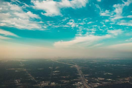 blue sky clouds #24040