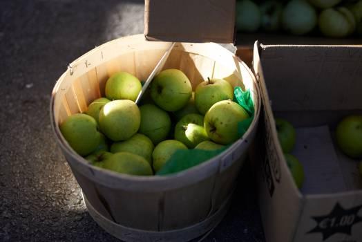 apples fruits basket #24113