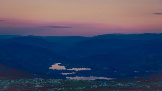 sunset dusk landscape #24154