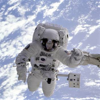 astronaut space suit space Free Photo