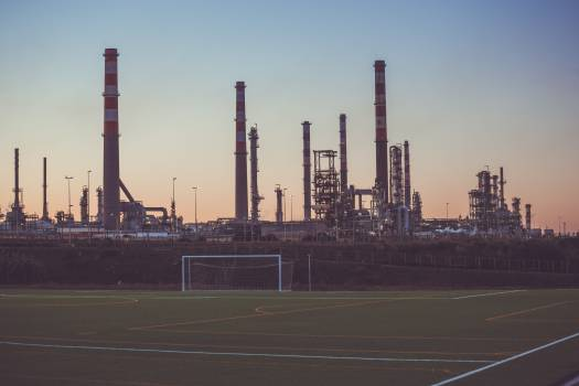 soccer field sports industrial Free Photo