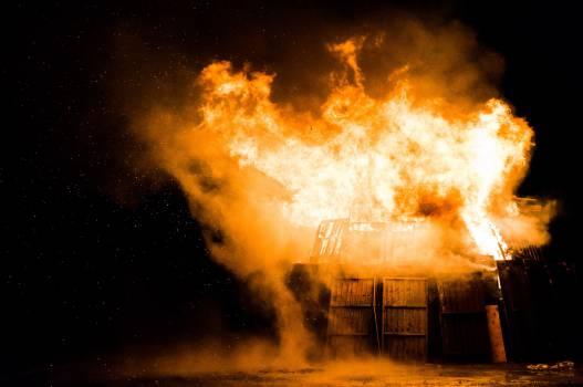 fire flames smoke Free Photo