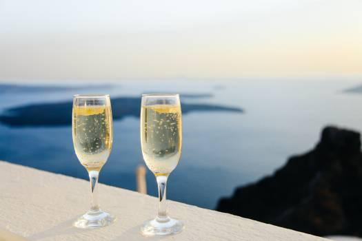 champaign sparkling wine glasses #24191