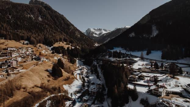 Mountain Valley Landscape #242681