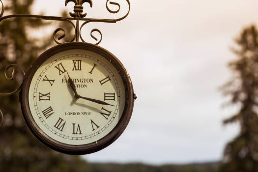 clock time train station #24290