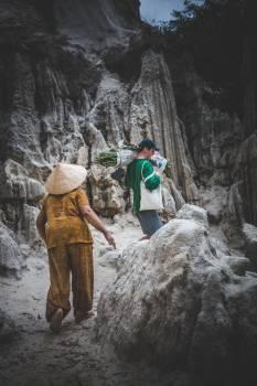 Mountain Hiking Rock Free Photo