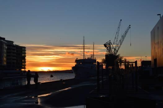 Ship Vessel Crane Free Photo