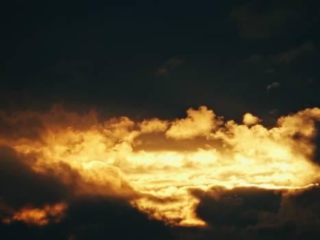 sunset dusk sky #24324