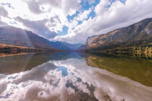 lake water reflection #24362