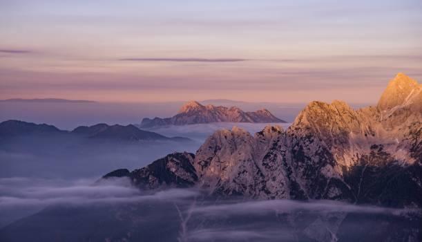 mountains peaks summit #24364