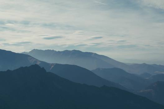 mountains peaks landscape #24397