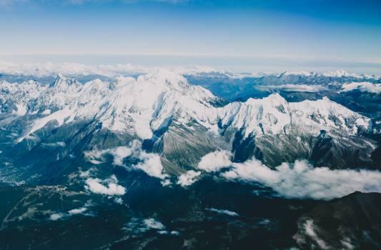 mountains peaks summit #24410