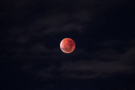 moon planet sky #24443