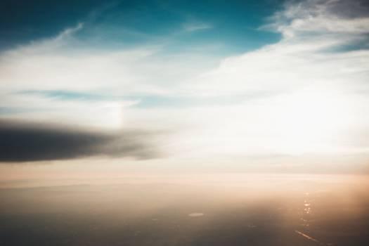 sky clouds aerial #24516