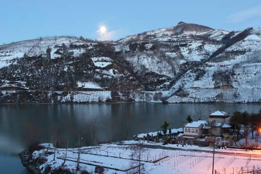 Mountain Landscape Snow #245253