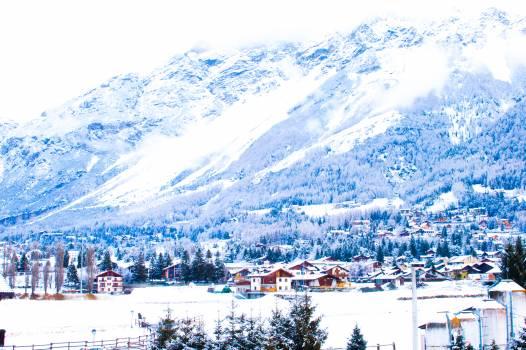 Snow Mountain Landscape #245351