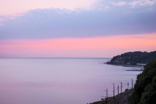 purple pink sky #24541