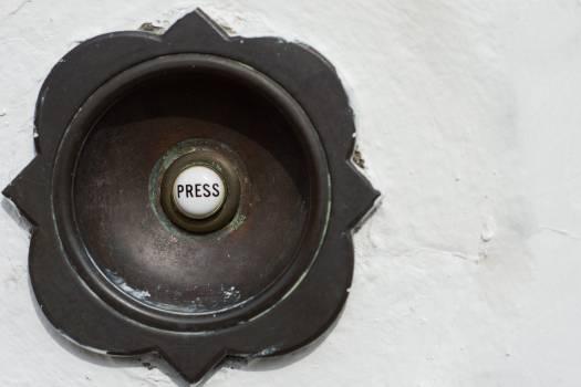 Automobile horn Push button Music Free Photo