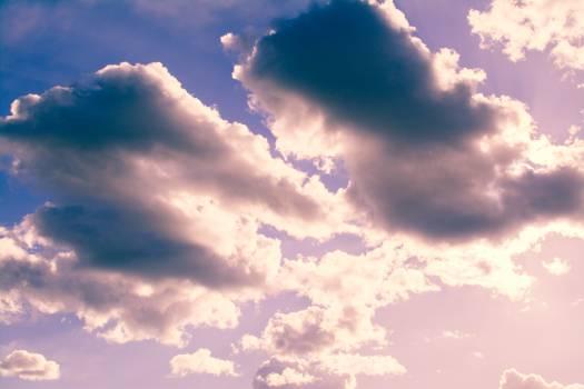 clouds sky sunshine #24561