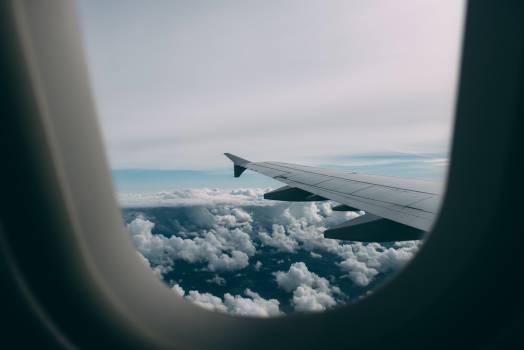 airplane window wing #24576