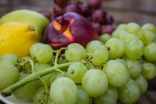 grapes lemon apples #24599