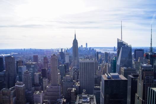 Manhattan City Skyscraper #246171