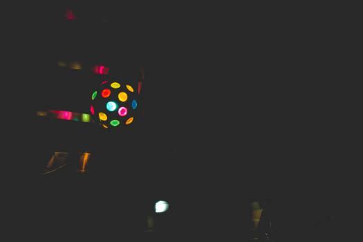 disco ball lights dancing Free Photo