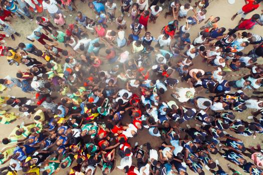 Crowd Multitude Group Free Photo
