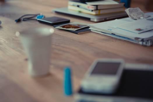 office desk objects Free Photo