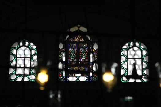 Window Chandelier Architecture #246778