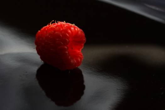 red raspberry raspberries #24690