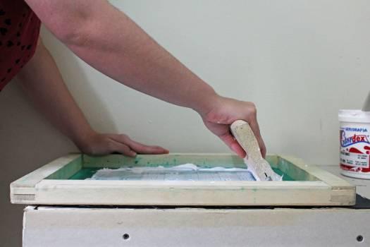 Carpenter Pad Paintbrush Free Photo