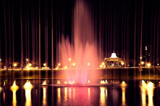 fountain water lights #24755