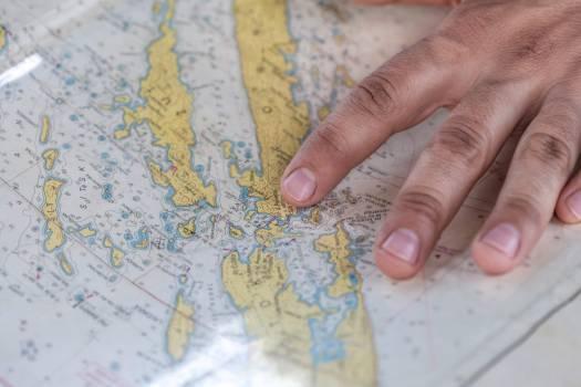 map navigation travel Free Photo